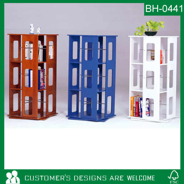Wooden Revolving Bookcase