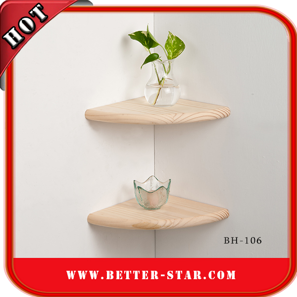 [BH-106] Corner Floating Shelf
