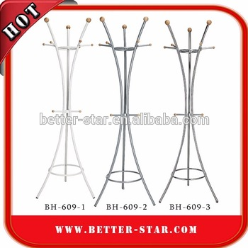 [BH-609-1, BH-609-2, BH-609-3] Steel Coat Stand